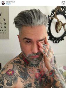Tinta capelli grigio uomo – Tagli per capelli corti 60cbf643410e